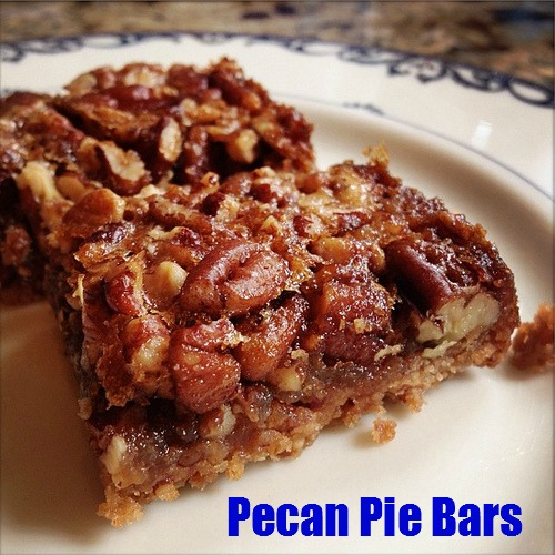 Chocolate Pecan Pie Bars | Recipe | Pecan Pie Bars | Real Good Cooking ...