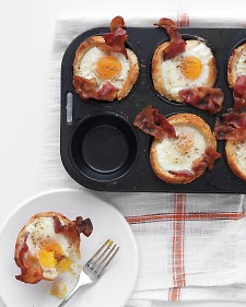 Bacon Egg and Toast Cups Recipe