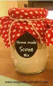 Homemade Scone Mix - Recipe in a Jar