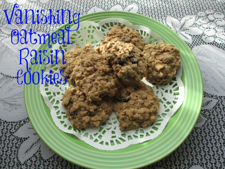 Vanishing Oatmeal Raisin Cookies Recipe