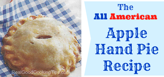 The All American Apple Hand Pie Recipe H