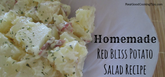 Homemade Red Bliss Potato Salad Recipe