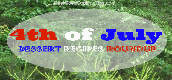 4th of July Dessert Recipes Roundup - feature