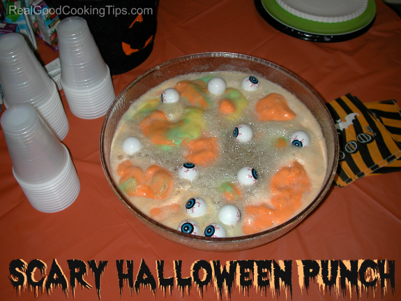 scary halloween punch