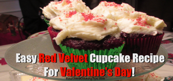 Easy recipe for red velvet cupcakes