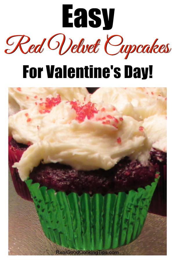 Super easy red velvet cupcake recipe