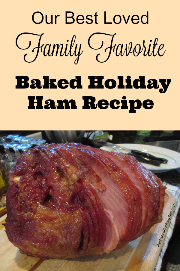Baked Holiday Ham Recipe for Easter