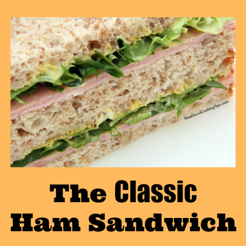 Classic Holiday Ham Sandwich Recipe