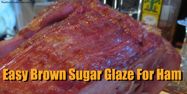 Easy Brown Sugar Glaze For Ham at Easter