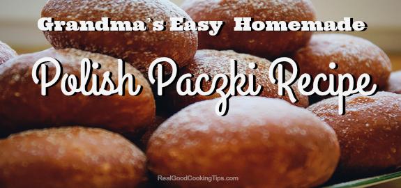 Easy Polish Paczki Recipe