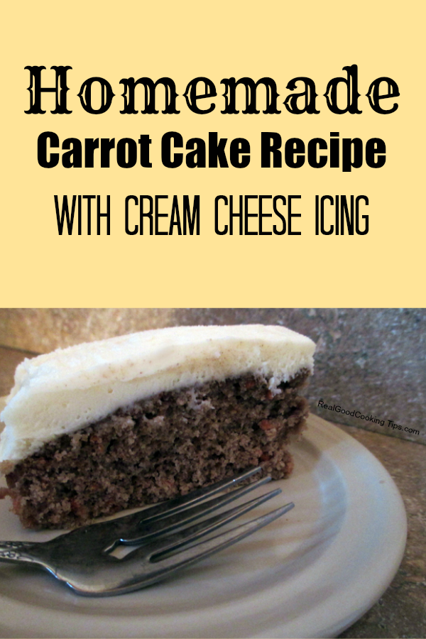 Make Homemade Carrot Cake Without Oven